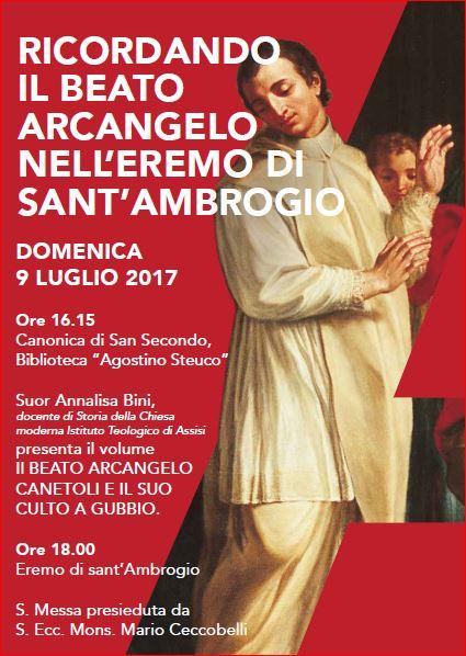 Ricordando il Beato Arcangelo Canetoli