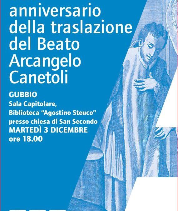 500 anni della traslazione del Beato Arcangelo Canetoli